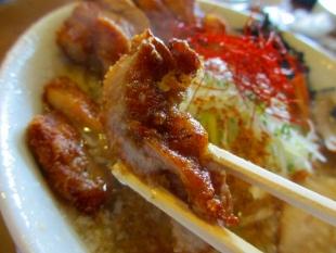酒麺亭潤 肉ド生姜 肉 (2)