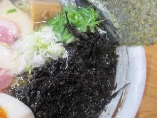 こがね 鶏塩ラーメン 岩海苔