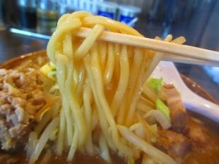 ふじの 肉爆弾味噌 麺