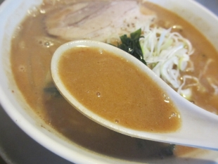 あしょろ 味噌ラーメン スープ