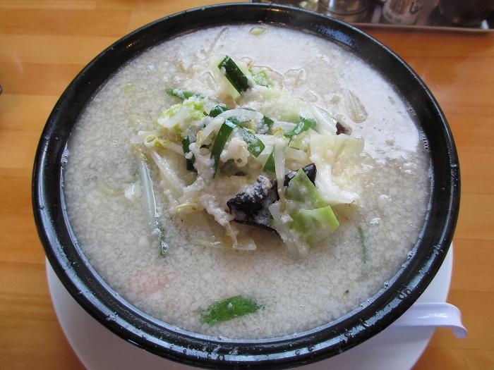 じぇんとる麺 野菜タンメンコッテリ