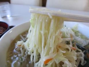 やなぎ亭 タンメン 麺