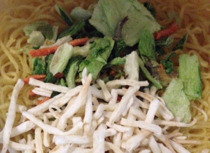 サンマ―麺野菜