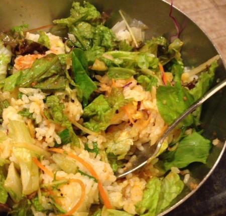 野菜ビビンバ混ぜ