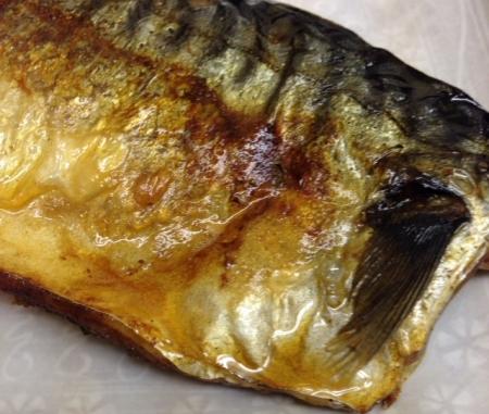定食鯖塩焼き