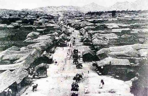 1888年ソウル南大門大通り