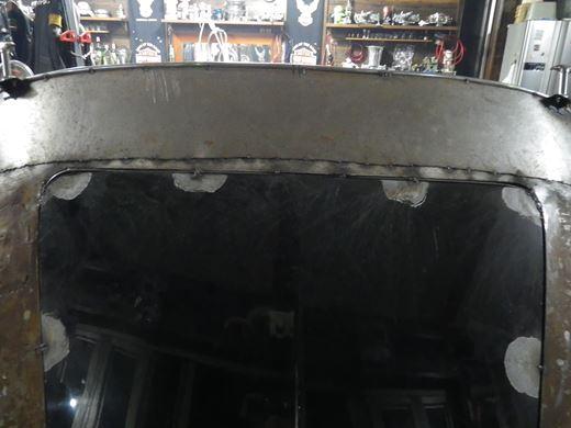 ボンネット溶接 (2)