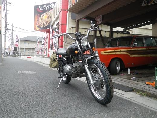 タイヤ交換後 (1)