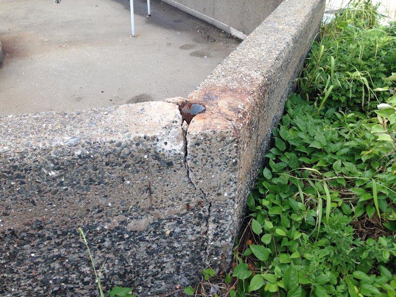 防油堤補修