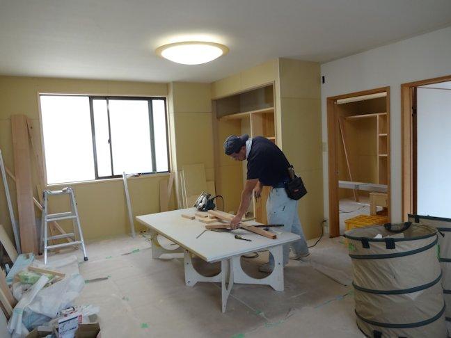 Rアパート改修~壁下地完了