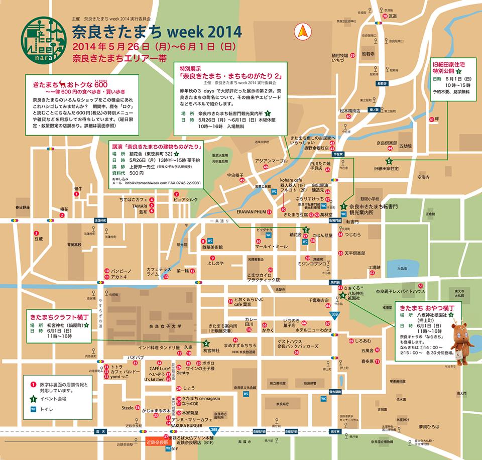 きたまちWeek Map
